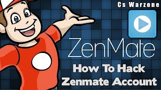 Gambar cover How To Crack Zenmate Accounts 100% Working With Proof