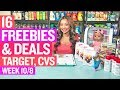 ★ 6 FREEBIES - Target & CVS Coupon DEALS (Week 10/8-10/14)