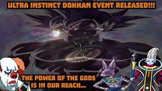 ULTRA INSTINCT GOKU DOKKAN EVENT RELEASED!!! HOW HARD IS THIS?! Dragon Ball Z Dokkan Battle