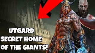 God of war- UTGARD secret home to the GIANTS! Tales of Norse Myth Episode 1