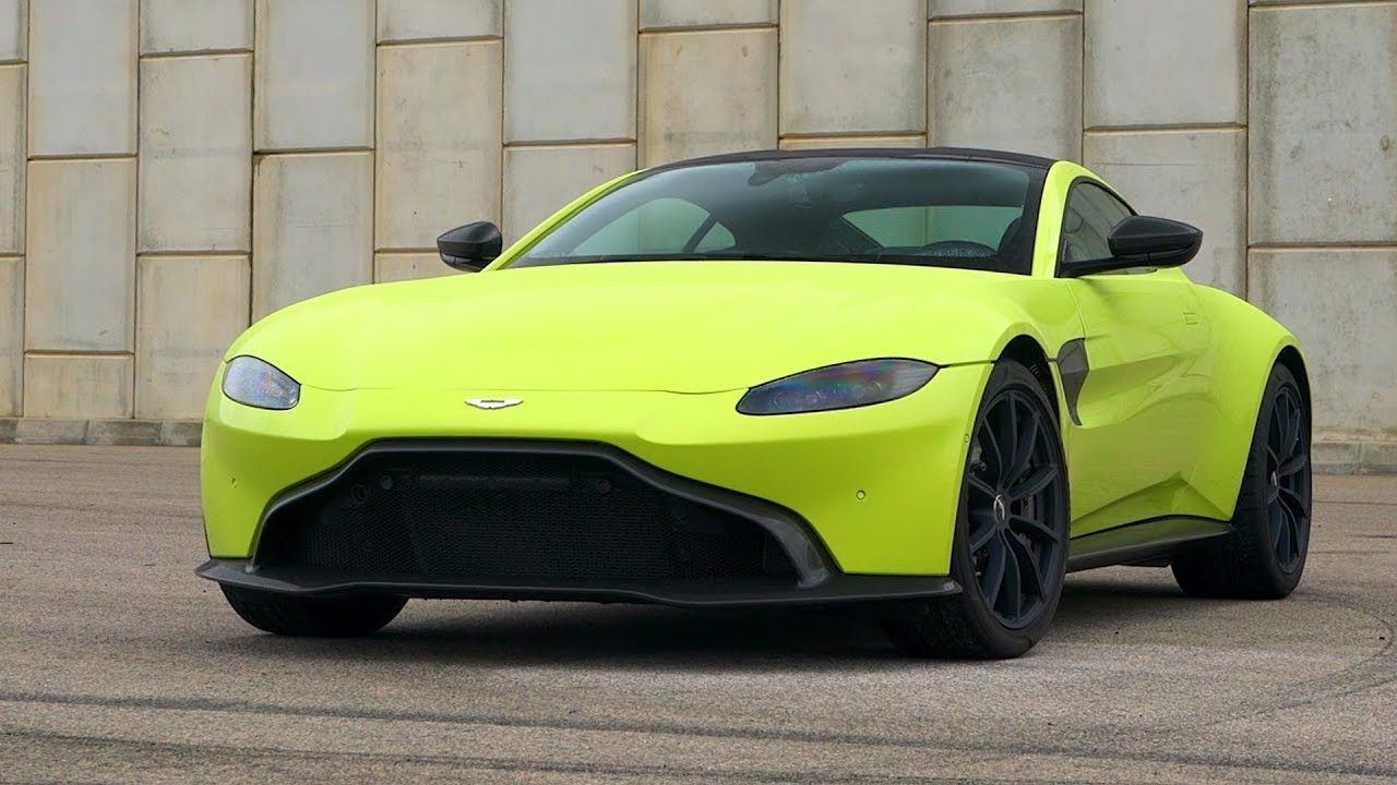 2019 Aston Martin Vantage Exterior Interior Lime Essence Youtube