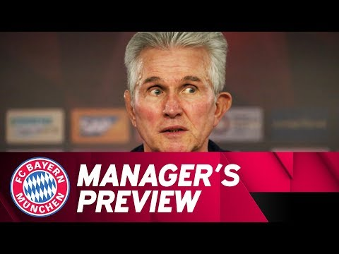 FC Bayern Manager's Preview w/ Jupp Heynckes | FCB - Borussia Dortmund | ReLive