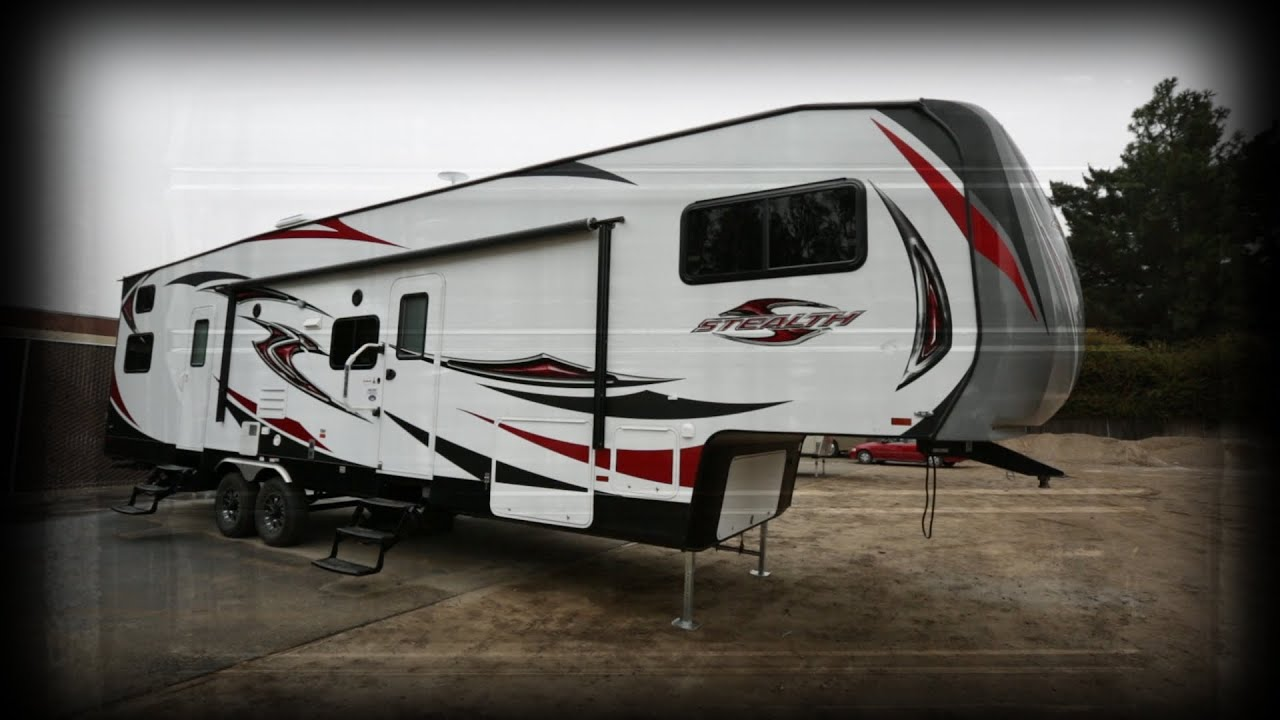 2017 Forest River Rv Stealth Rg3512g Toy Hauler 5th Wheel Stock 5196