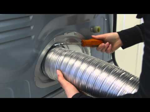 Deflecto - Semi Rigid Dryer Transition Unit