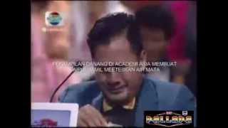 Danang Academy Asia Show Membuat Saipul Jamil Menangis