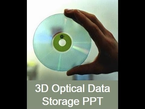 3D Optical Data Storage
