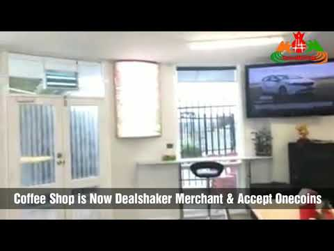 Coffee is now Dealshaker Merchant and Accepting Onecoins