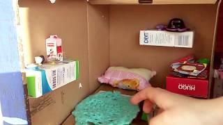як зробити будинок книжку для ляльок