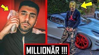 🔴 10 RAPPER die insgeheim MILLIONÄRE sind !!! 💰 🔴 Capital Bra, 18 Karat, Gzuz