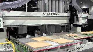 Multi-Head Dual Process and Slaving of Spindles on C.R. Onsrud CNC Routers