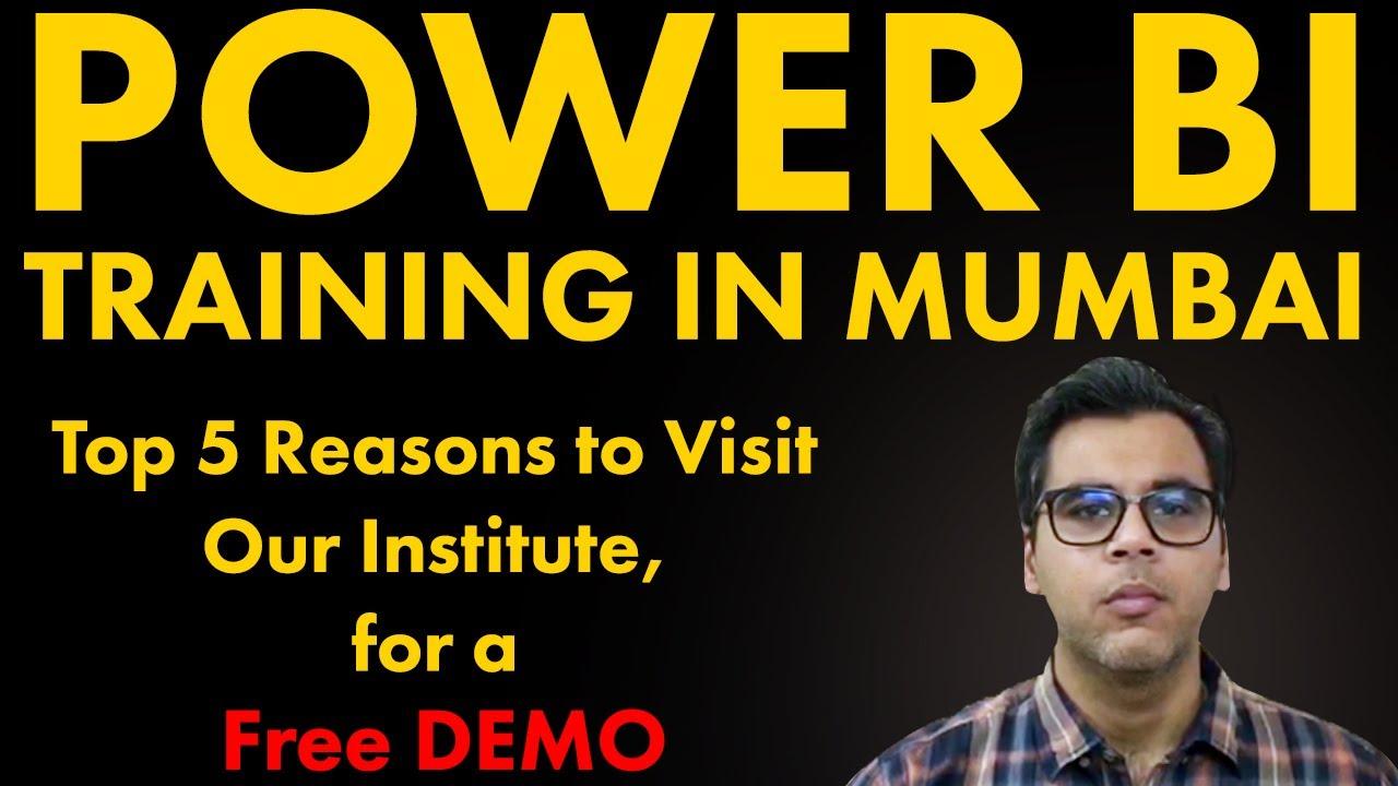 Power BI Certification | Power BI Training In Mumbai | Power BI