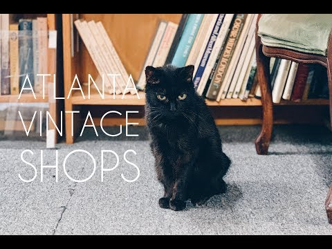 Antique Shopping In Atlanta! | Used Bookstores And Vintage Finds