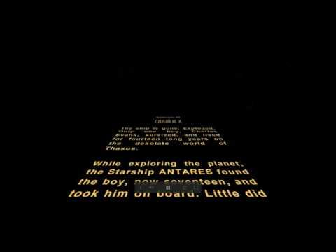 STAR TREK : Star Wars-style Opening Crawl
