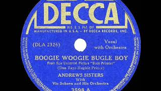 1941 HITS ARCHIVE: Boogie Woogie Bugle Boy - Andrews Sisters