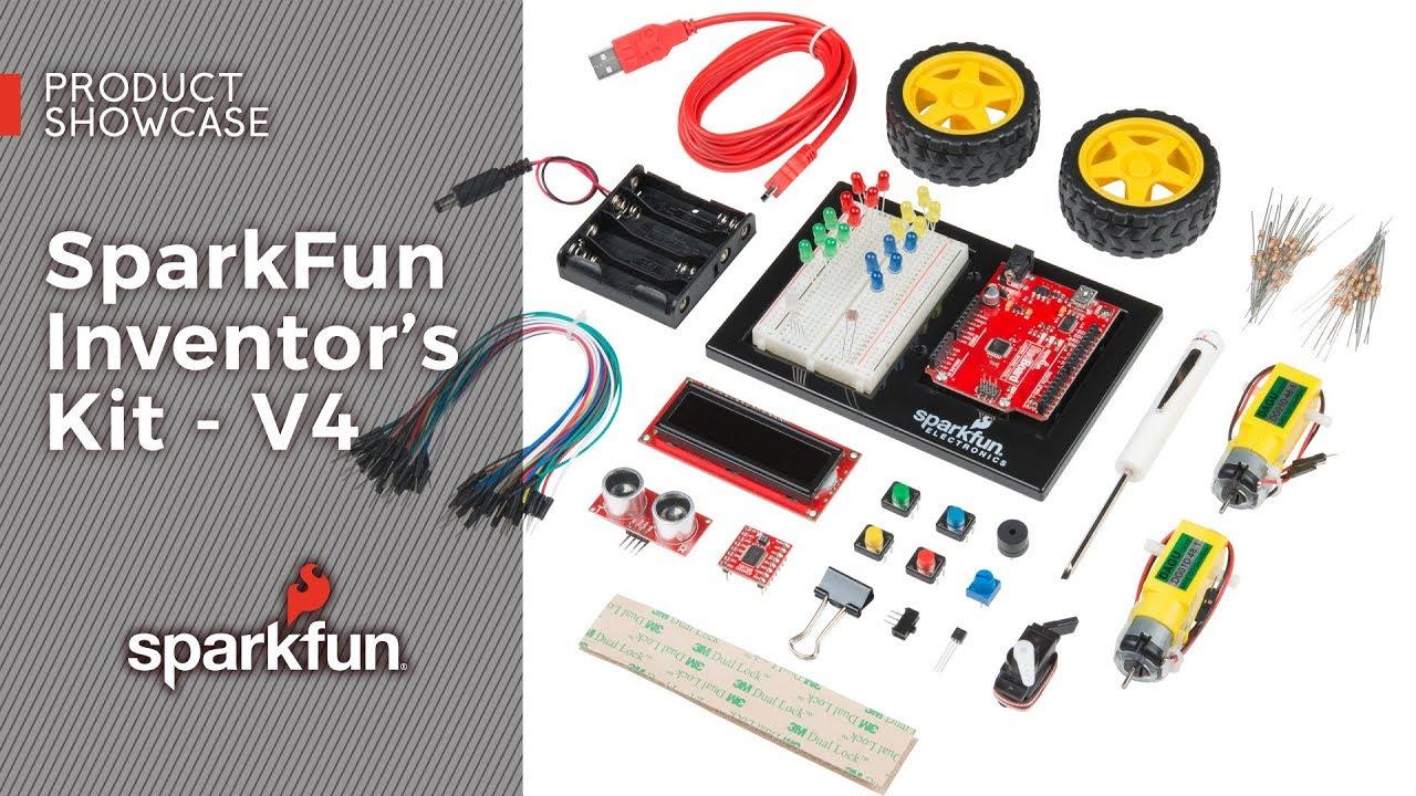 SparkFun Inventor's Kit for Arduino Uno - v4 0