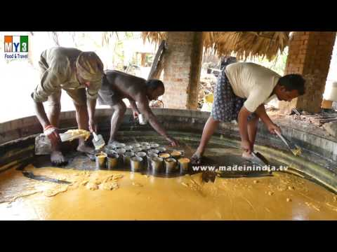 Traditional Jaggery Making | MAKING OF GURR | VILLAGE FOOD FACTORY