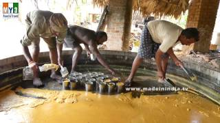 Traditional Jaggery Making | MAKING OF GURR | VILLAGE FOOD FACTORY street food