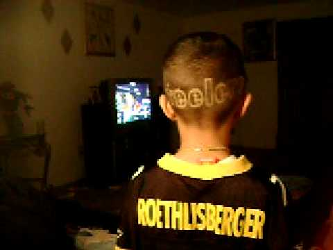 Steelers Haircut 2009 Youtube