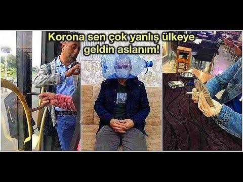 KORONA VİRÜS TÜRKİYE 'DE YAPILMIŞ EN KOMİK TROLLER ( CORONA BİLE ...