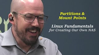 Linux Partitions and Mount Points: Preparing a DIY NAS