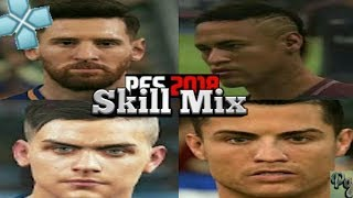 Pes 2018 ppsspp goals and skills• happy new year goals and skills ft Ronaldo/messi etc