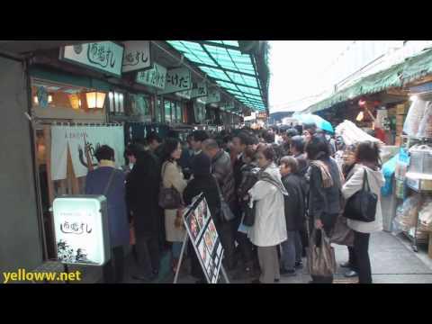 Tsukiji Fish Market Tourist Guide