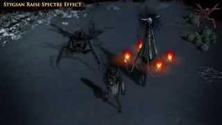 Path of Exile - Stygian Raise Spectre Skill Effect