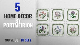 Top 10 Home Décor By Portmeirion [ Winter 2018 ]: Portmeirion Botanic Garden Coasters, Set of 6