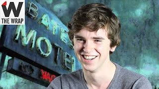 'Bates Motel's' Freddie Highmore Admits His Mom-Cuddling Character Is 'a Bit of a Perv'