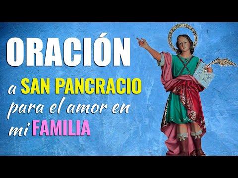 🙏 Oración a San Pancracio para que no falte EL AMOR en mi FAMILIA 👨👩👧👦 Poderosas Palabras