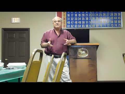 Toney Sleiman Speaks at the BBA June 4th 2018