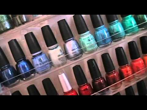50 MIN LONG Nail Polish Collection (racks from transdesign)