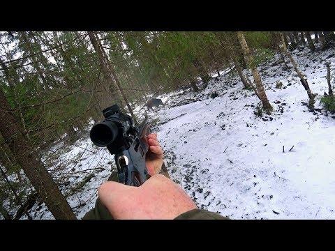 Охота #128 удачные выстрелы на загонной охоте