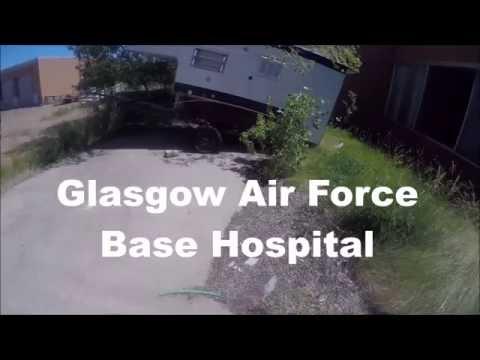 Glasgow Air Force Base MT Hospital Abandoned