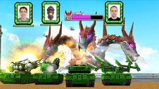 Tank! Tank! Tank! (tentative title) - Wii U - Battle Party Game (E3 2012)