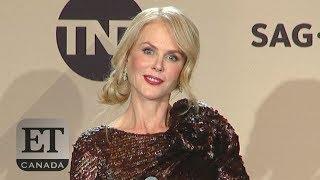 Nicole Kidman Wins Her First-Ever SAG Award, Talks Time's Up