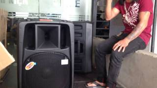 Karaoke Loa vali kéo Dp 2398T , khách hát karaoke chẳng khác gì ca sĩ