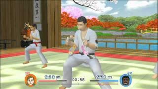 "ExerBeat [Wii] - ""Karate"" Gameplay Trailer"