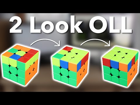 (CFOP) 2 Look OLL Tutorial