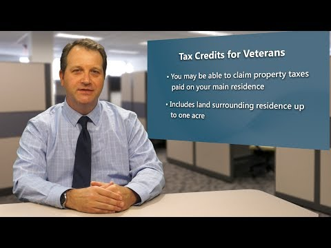 Wisconsin Veterans & Military Members Tax Credits