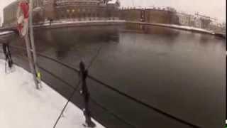 Öringfiske rosenbad Stockholm ström!
