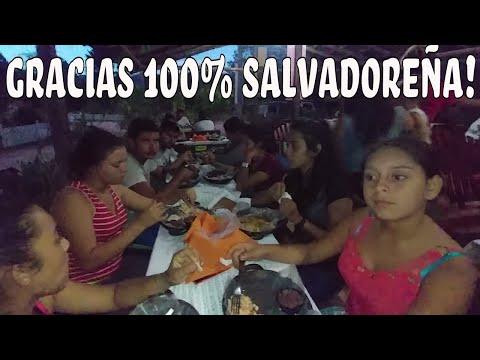 Una rica cena típica Salvadoreña gracias a 100% Salvadoreña. Suscribete a su canal. Parte 6/6