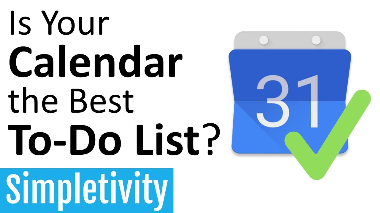 Is Your Calendar the Best To-Do List? (How to Add Tasks to Any Calendar)