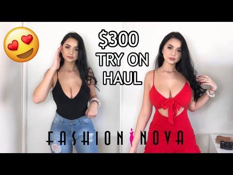$300 FASHION NOVA TRY ON HAUL   Anna Paul