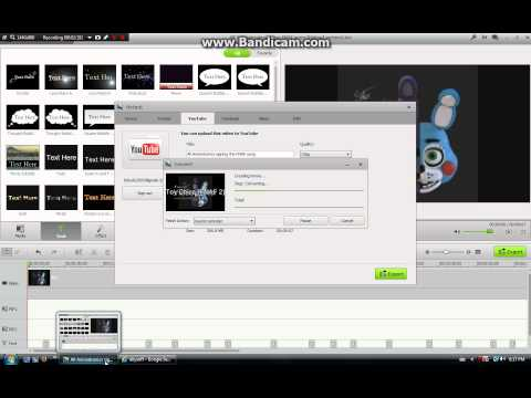 How to upload a song/audio recording to YouTube