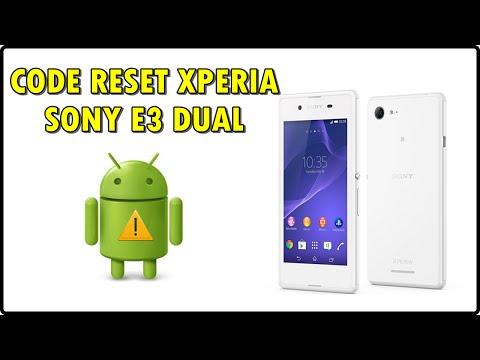 CODE RESET - REMOVER SENHA - FORMATAR Sony Xperia E3