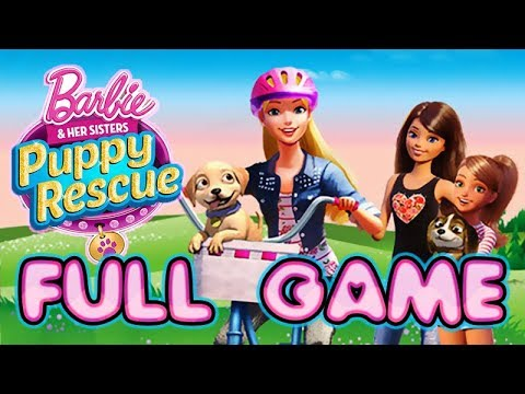 Barbie And Her Sisters: Puppy Rescue Walkthrough FULL GAME Longplay  (PS3, Wii, X360, WiiU)