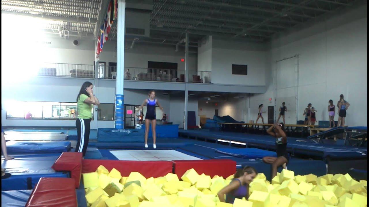 how to make a foam pit for gymnastics