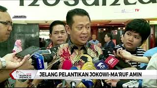 Pelantikan Jokowi-Ma'ruf Mundur Enam Jam