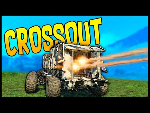 Crossout - INSANELY GOOD BUILD! Dual Cricket Launcher Build - Crossout Gameplay
